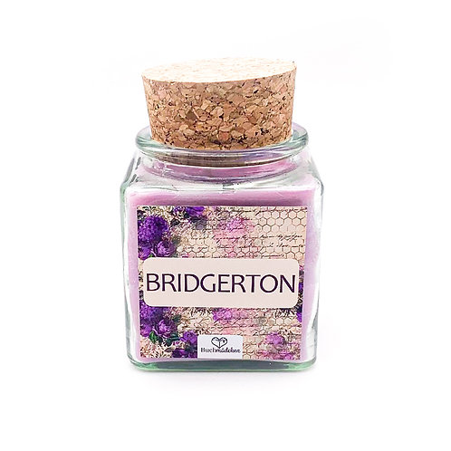 Specialkerze mit Korken »Bridgerton«
