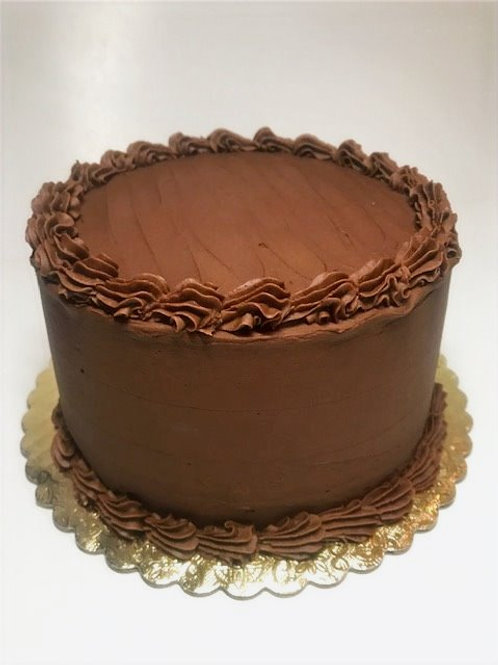 Chocolate Layer Cake 10""