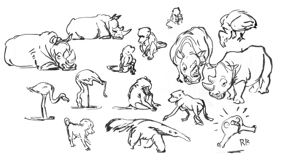 Paris Zoo Animals