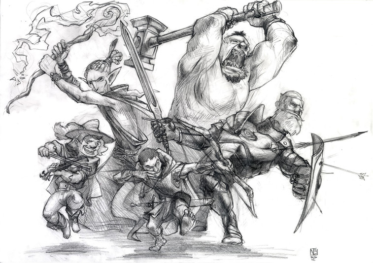 Dungeons & Dragons Team