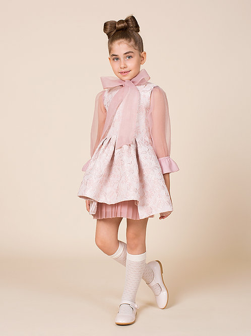Jacquard & Organza Candice Outfit I 2 Pieces