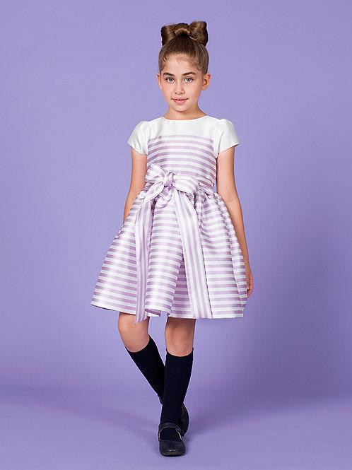 Bar Lilac Stripe Dress