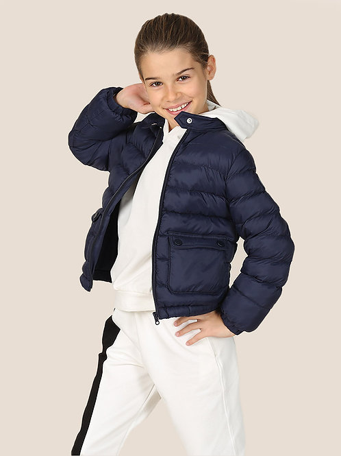 Mama Luma Navy Puffy Jacket