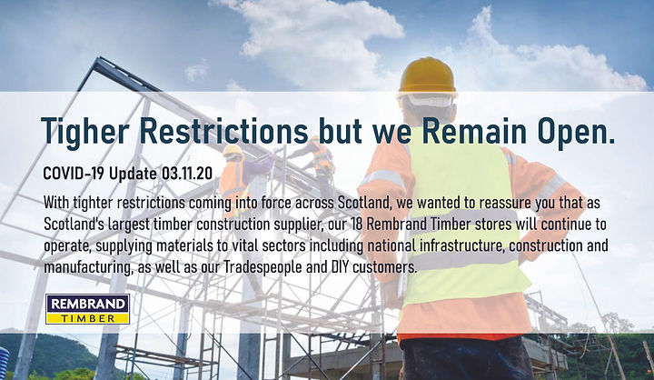 Rembrand - construction to remain open.j