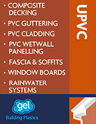 UPVC Decking, guttering, cladding