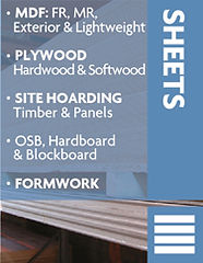Plywood Sheets, MDF, OSB