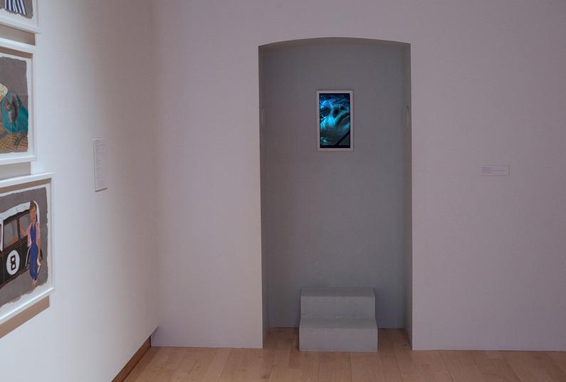 door with viewing portal