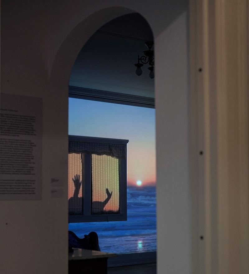 doorway to Charles Allis' master bedroom