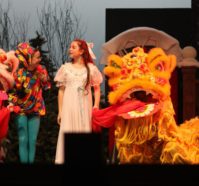Visit from the Chinese Dragon
