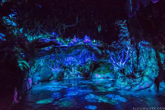 Plant Design and Blacklight Development-Na'vi River Journey Animal Kingdom