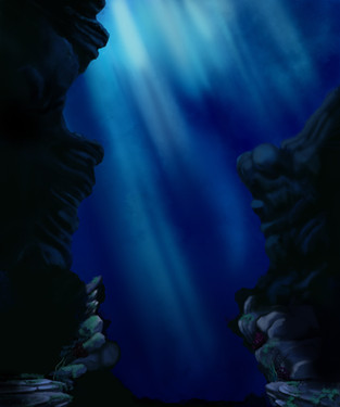 Matte Painting: Little Mermaid 30th at the Hollywood Bowl