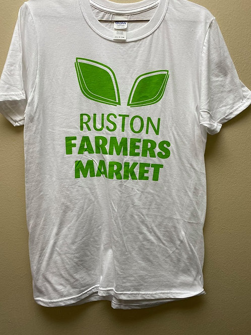 RFM Old Logo T-shirt (White- 100%Cotton) Adult Small