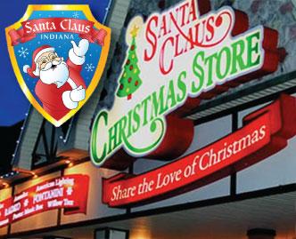 Santa Claus Christmas Store