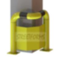 Защита колонны от тарнспорта