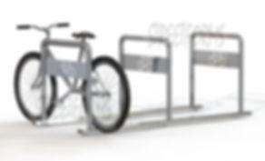 Правильная и удобная велопарковка