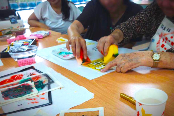 Lovebuds: Arts for Persons with Dementia