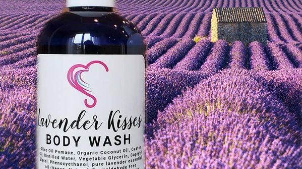 Lavender Kisses Body Wash+Healing Lotion
