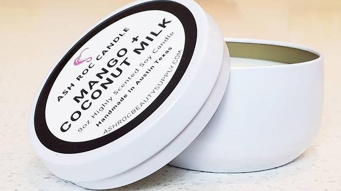 9oz Luxury Double Wick Cotton Soy Candle
