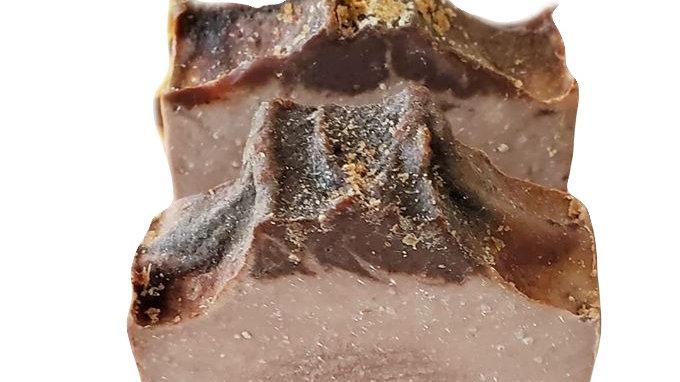 Chocolate Praline Raw Vegan Soap
