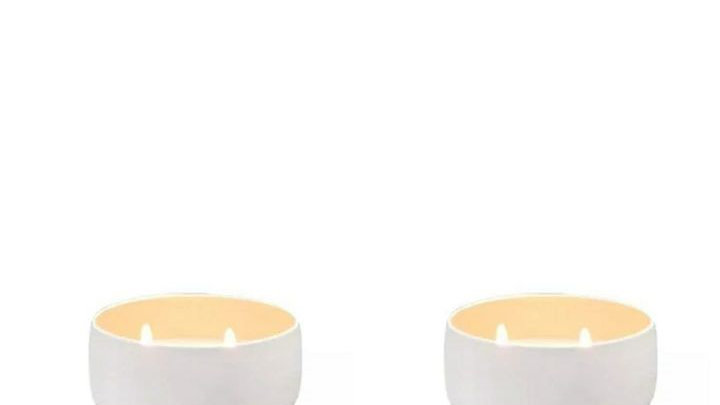 Lavender White Sage Wooden Wick +  Lavender Egyptian Amber Cotton Wick