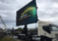 Truck Mounted LED Screen Available for Hire