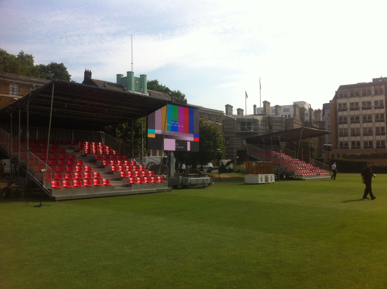 Grandstand Hire for a Military Event