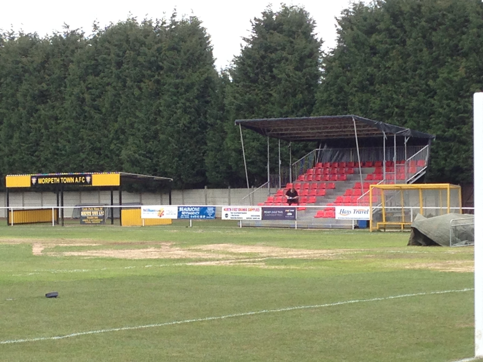 Temporary Football Grandstand