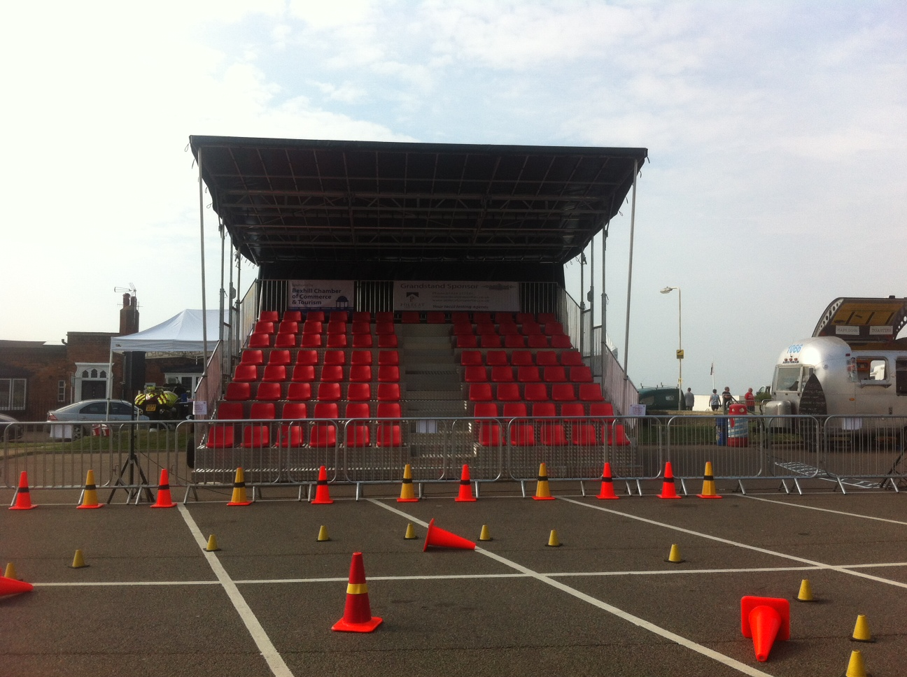 Hire Grandstand for a Racing Event