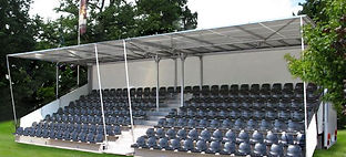 Tiered Seating Hire Prices