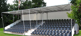 Tiered Seating Hire
