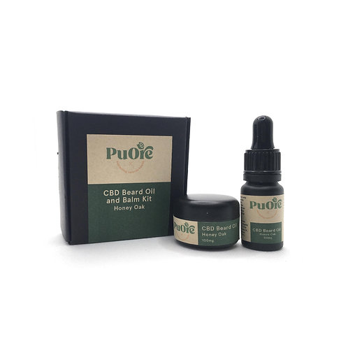 PuOre Honey Oak Beard Kit