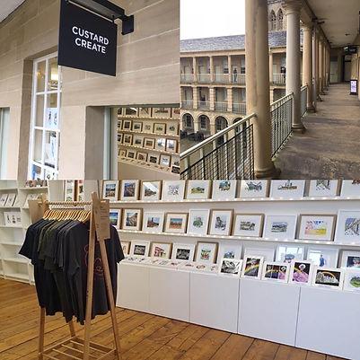 Otso Stockist Custard Create Piece Hall Halifax