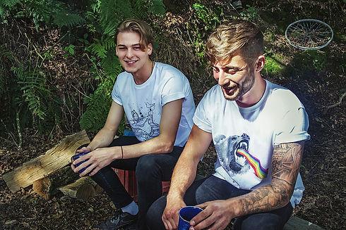 Otso T Shirts, Harrison and Josh