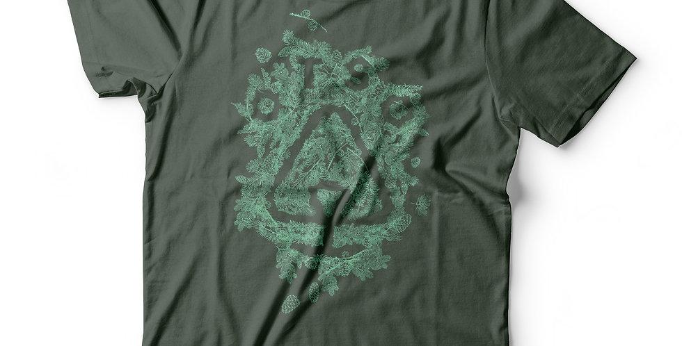 Otso Mint Pine Needle Logo Tee