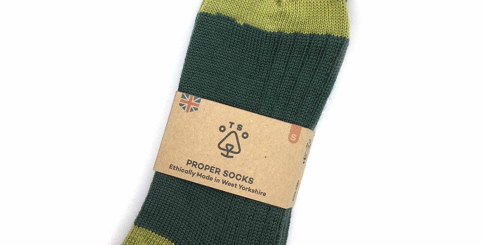Otso Proper Socks - Fields of Green