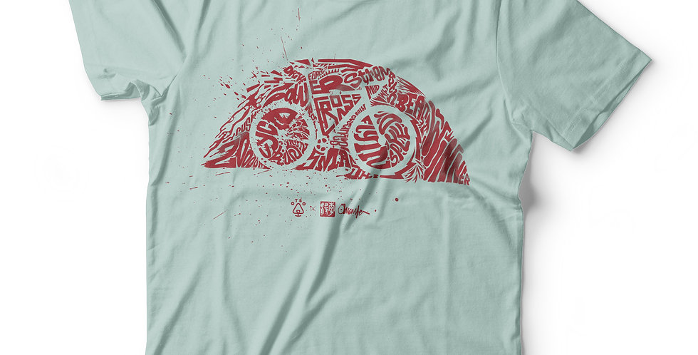 Blood n Blue: Cyclo by Oliver Lancaster Smith X Otso on India Ink