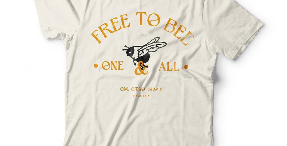 Free to Bee Om Collab Tee