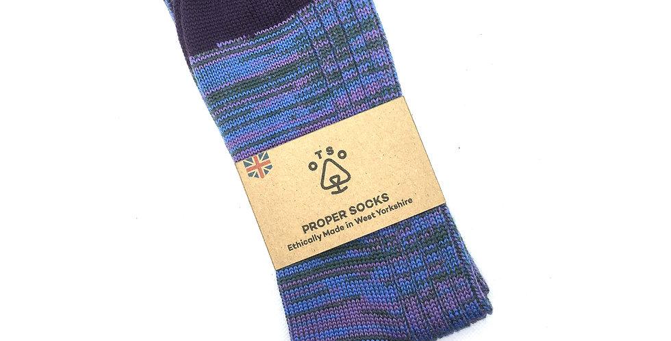 Otso Proper Socks - Purple Haze