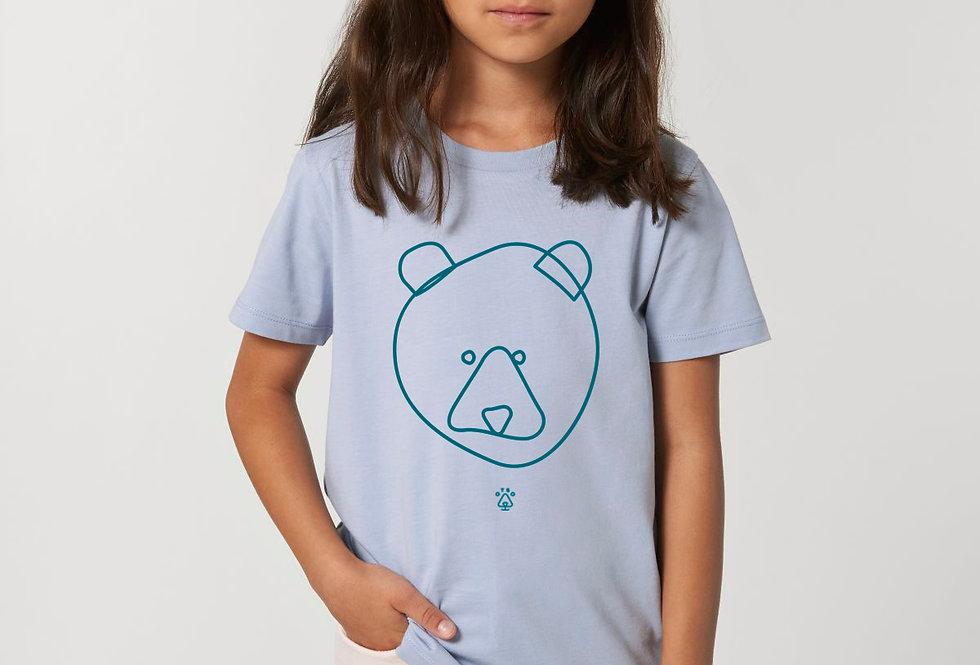 Bear Faced Kids: Serene Blue