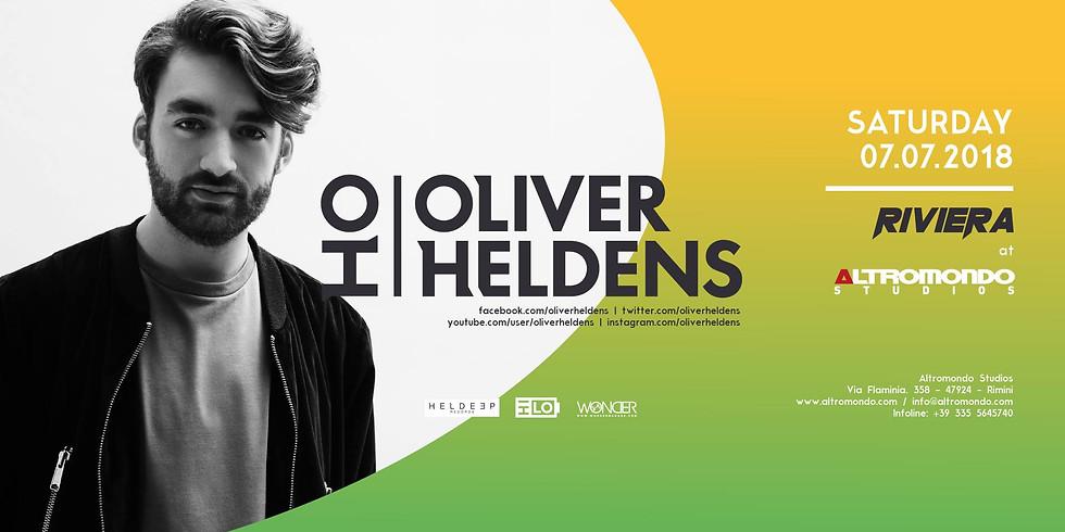 OLIVER HELDENS ALTROMONDO RIMINI COCORICO RICCIONE 7 LUGLIO 2018