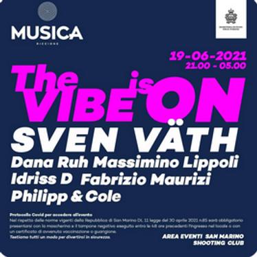 SVEN VATH SAN MARINO MUSICA RICCIONE 19 GIUGNO 2021