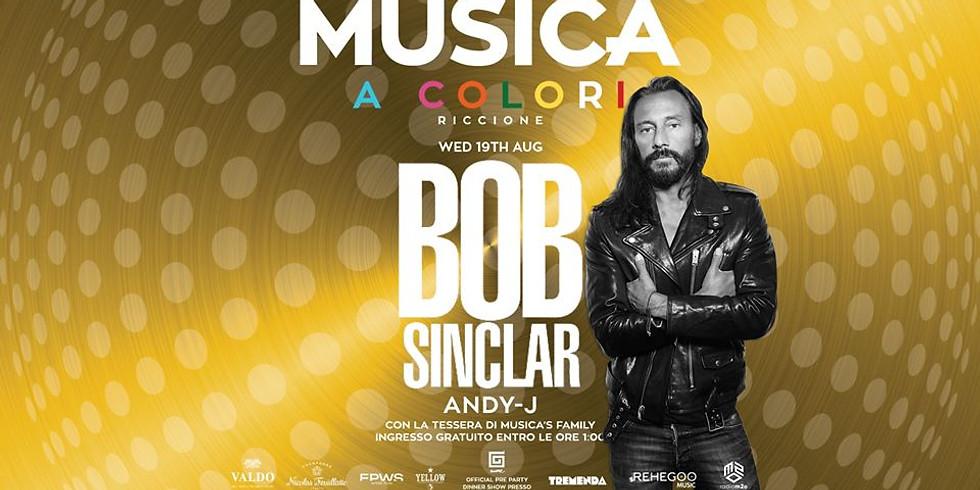 BOB SINCLAR MUSICA RICCIONE 19 AGOSTO 2020