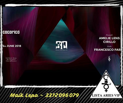 Amelie Lens Cocorico Riccione 16 Giuno 2018