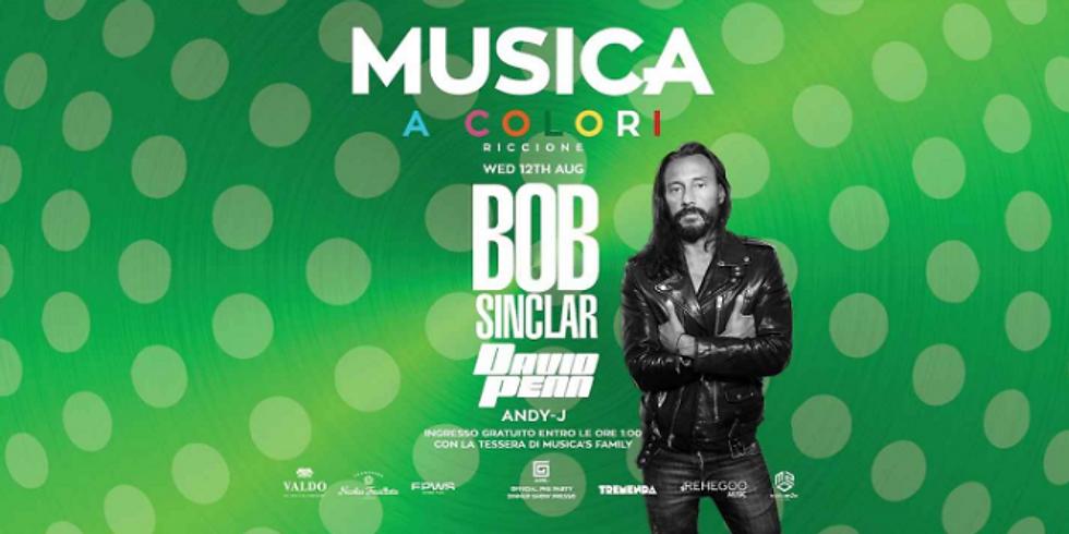 BOB SINCLAR MUSICA RICCIONE 12 AGOSTO 2020