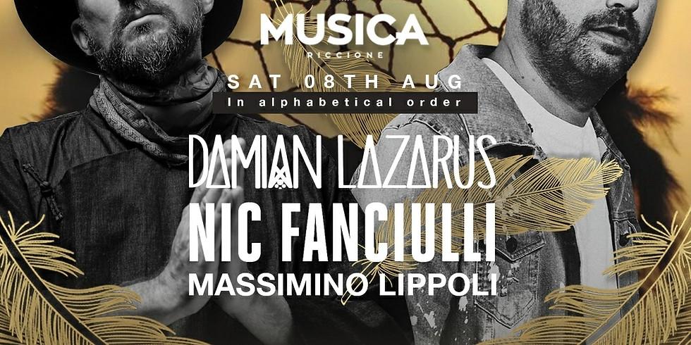 LAZARUS & NIC FANCIULLI MUSICA RICCIONE 08 AGOSTO 2020