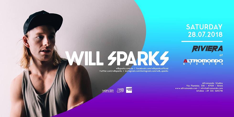 WILL SPARKS ALTROMONDO RIMINI AMS 28 LUGLIO 2018