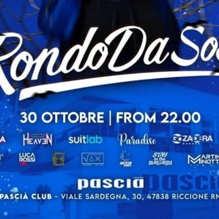 Rondo da sosa pascia riccione 2021 Riviera Discoteche Riccione