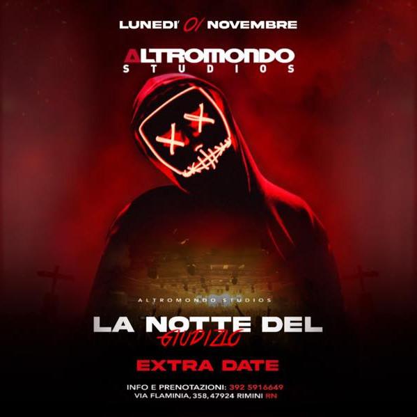 Halloween Altromondo Rimini 2021 Riviera Discoteche Riccione