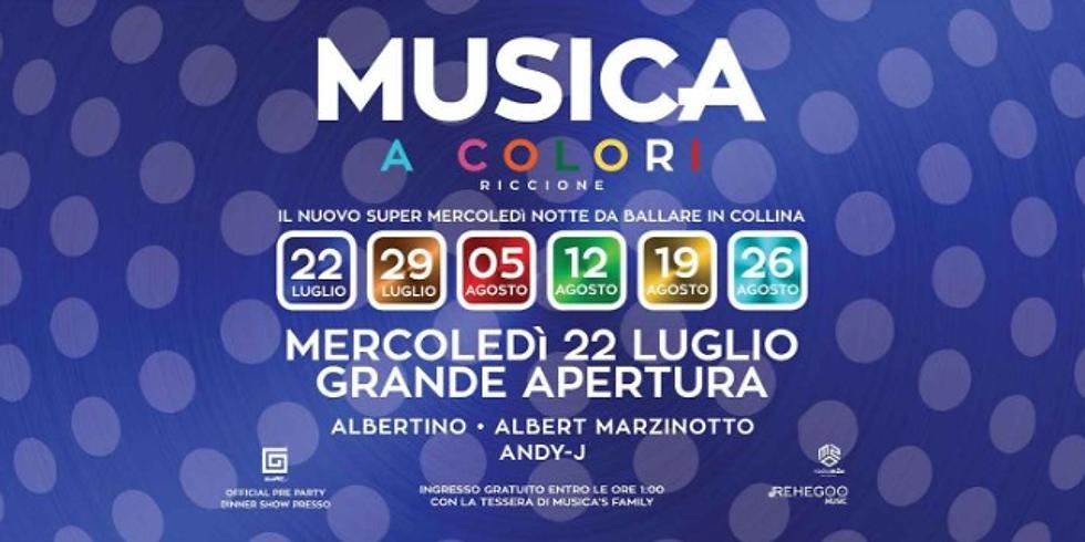 ALBERTINO & MARZINOTTO MUSICA RICCIONE 22 LUGLIO 2020