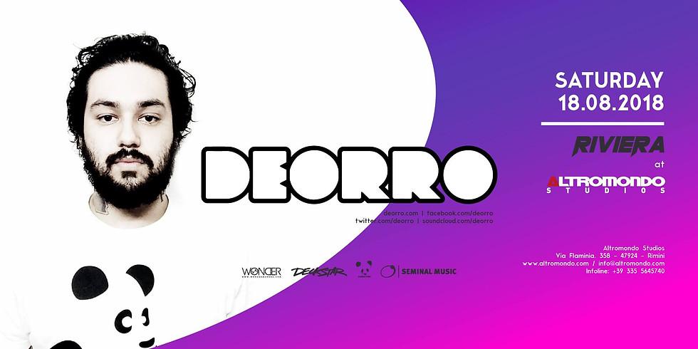 DEORRO ALTROMONDO RIMINI AMS 18 AGOSTO 2018
